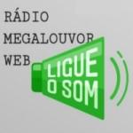 Logo da emissora Rádio Mega Louvor