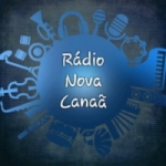 Logo da emissora Rádio Nova Canaã