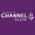 Logo da emissora Radio Channel 4FM 104.8