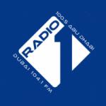 Logo da emissora Radio 1 104.1 FM