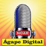 Logo da emissora Rádio Ágape Digital