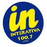 Logo da emissora Rádio Interativa 100.7 FM