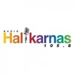 Logo da emissora Radyo Halikarnas 105.8 FM