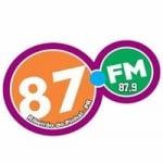 Logo da emissora Rádio 87 FM