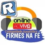 Logo da emissora Rádio Firmes na Fé