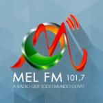 Logo da emissora Rádio Mel 101.7 FM