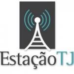Logo da emissora Rádio Estação TJ