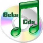 Logo da emissora Rádio Web Gêka CDs