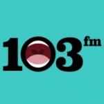 Logo da emissora 103 FM