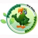 Logo da emissora Papagaio Nhamundá