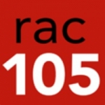Logo da emissora Radio Rac 105.0 FM