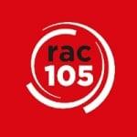 Logo da emissora Radio RAC105 105.0 FM