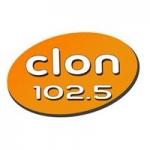 Logo da emissora Radio Clon 102.5 FM