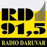Logo da emissora Radio Daruvar 91.5 FM