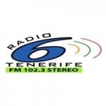 Logo da emissora Radio 6 Tenerife 102.3 FM