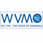 Logo da emissora Radio WVMO 98.7 FM