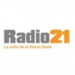 Logo da emissora Radio 21 107.9 FM