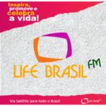 Logo da emissora Rádio Life Brasil FM