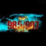 Logo da emissora Radio Hott 98.5 FM