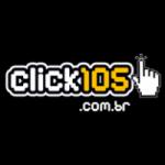 Logo da emissora Rádio Click 105.7 FM