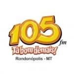 Logo da emissora Radio Tropical 105.7 FM