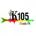 Logo da emissora Radio Klassic 105.5 FM