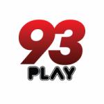 Logo da emissora Rádio 93 Play 93.3 FM