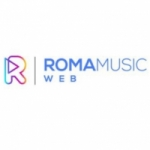 Logo da emissora Rádio Roma Music Web