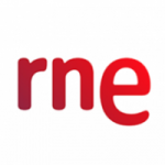 Logo da emissora RNE Radio Nacional 585 AM 88.2 FM