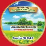 Logo da emissora Rádio Paraíso Com Cristo