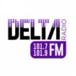 Logo da emissora Radio Delta 101.7 FM