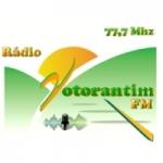 Logo da emissora Rádio Votorantim FM