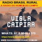 Logo da emissora Rádio Brasil Rural