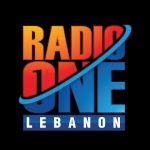 Logo da emissora Radio One 105.5 FM