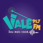 Logo da emissora Rádio Vale 91.7 FM
