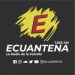 Logo da emissora Radio Ecuantena 1030 AM