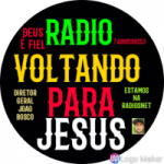 Logo da emissora Rádio Voltando Para Jesus