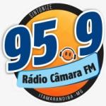 Logo da emissora Rádio Câmara 95.9 FM