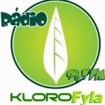 Logo da emissora Rádio Klorofyla FM