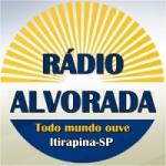 Logo da emissora Rádio Alvorada