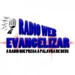 Logo da emissora Rádio Web Evangelizar