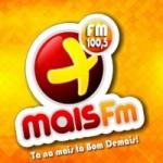 Logo da emissora Rádio Mais 100.5 FM