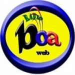 Logo da emissora Boa Web Rádio