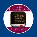 Logo da emissora Rádio Evangélica Harpa De Davi