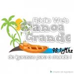 Logo da emissora Rádio Web Canoa Grande