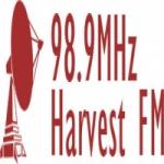 Logo da emissora Harvest 98.9 FM