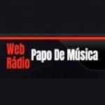 Logo da emissora Web Rádio Papo De Música