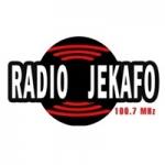 Logo da emissora Radio Jekafo 100.7 FM