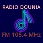 Logo da emissora Radio Dounia 105.4 FM