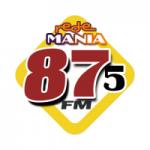 Logo da emissora Rede Mania 87.5 FM